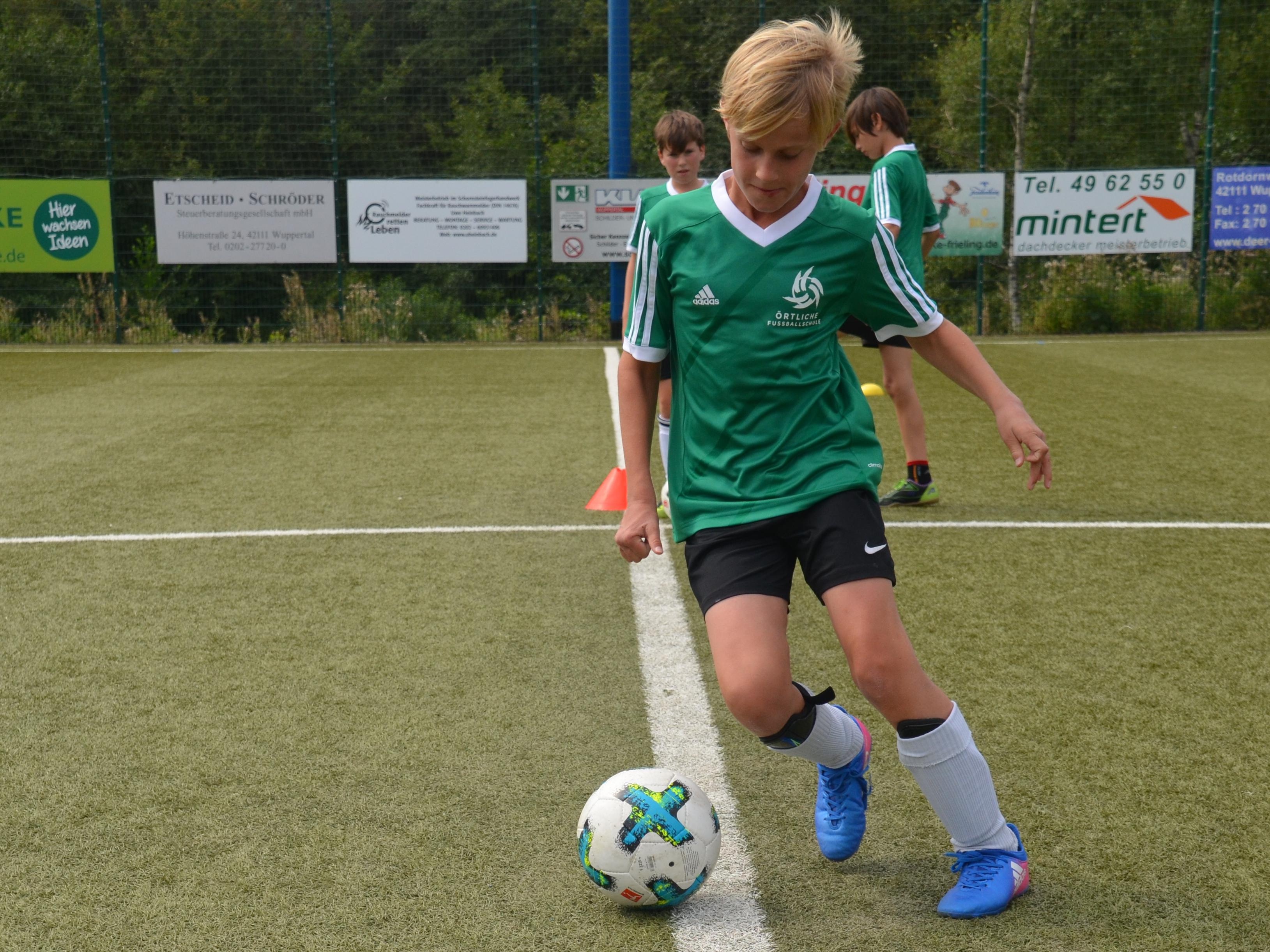 Fußballschule neu
